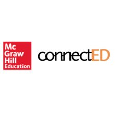 McGraw-Hill and ConnectED loggos - all text