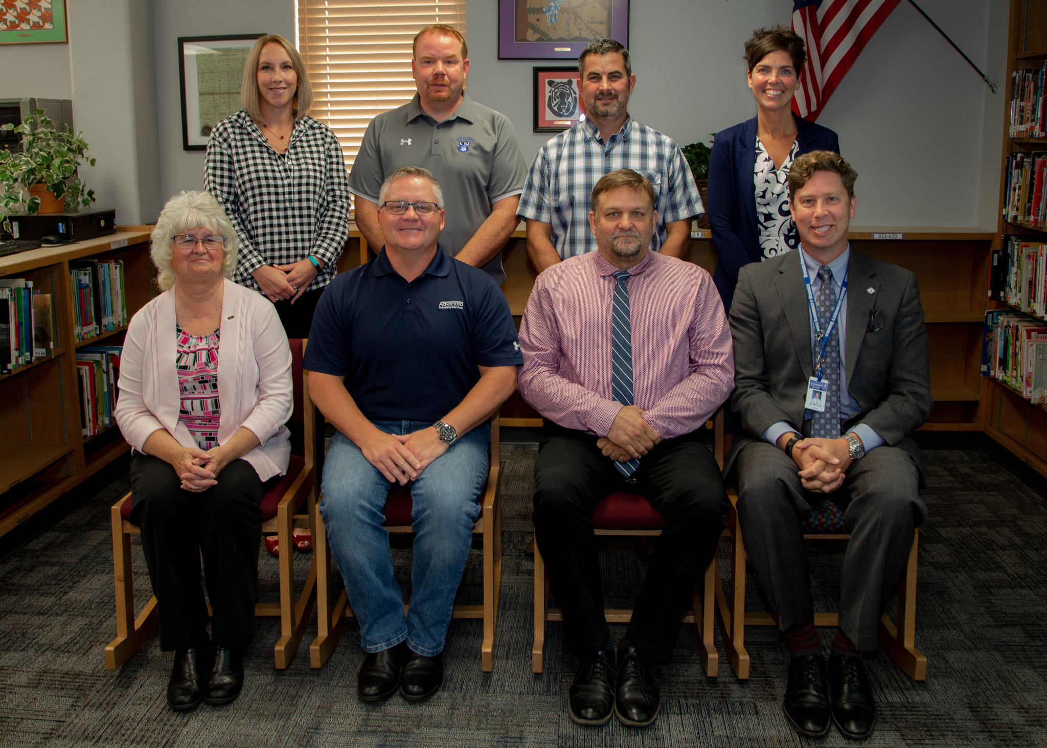 photo of the 2019-2020 school board members